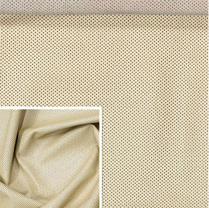 Perforated Cream Lambskin (Ref-gh.eol)