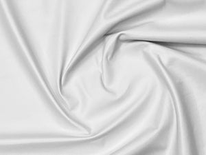 Valencia White Leather Lambskin : Italian Lamb Nappa  (0.6-0.7mm) Perfect For Clothing , Leather Jackets , Leather Crafts , Leather Bags , Leather Shoes.