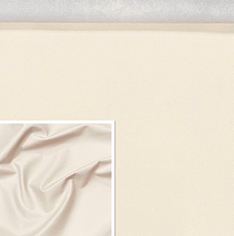 Valencia Off White Leather Lambskin : Italian Lamb Nappa (0.6-0.7mm) Perfect For Clothing , Leather Jackets , Leather Crafts , Leather Bags , Leather Shoes