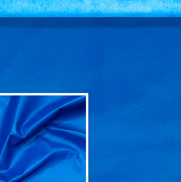 Valencia Cobalt Blue Leather Lambskin : Italian Lamb Nappa (0.6-0.7 mm). Perfect for Clothing, Leather Jackets, Leather Crafts, Leather Handbags, Leather Shoes.