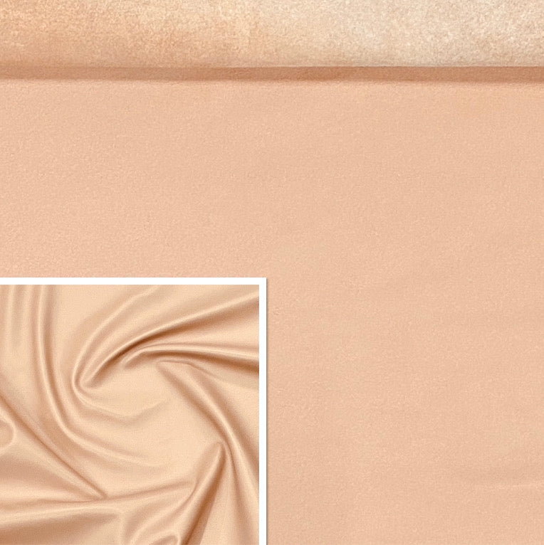 Valencia Nude Pink Leather Skin : Italian Lamb Nappa (0.6-0.7mm) Perfect For Clothing , Leather Jackets , Leather Crafts , Leather Bags , Leather Shoes.