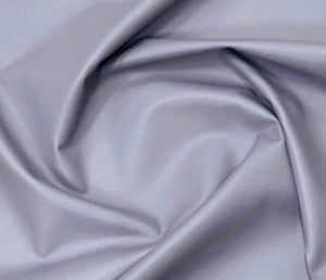 Valencia Light Grey Leather Lambskin : Italian Lamb Nappa (0.6-0.7 mm). Perfect for Clothing , Leather Jackets, Leather Crafts, Leather Handbags, Leather Shoes.