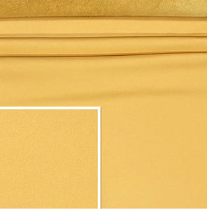 DeerCow Yellow Cow Side : (1.3-1.5mm) This Hide Is Perfect For Leather Crafts, Leather Bags, Leather Accessories.