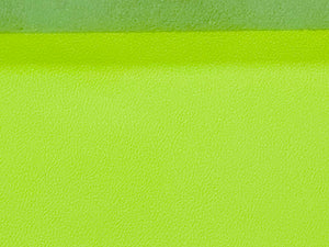 Biker Fluorescent Yellow Print Assisted Cow Hide: 1.2-1.4mm 3oz, This Hide Is Perfect for Leather Garments, Leather Jackets, Leather Crafts, Leather Bags