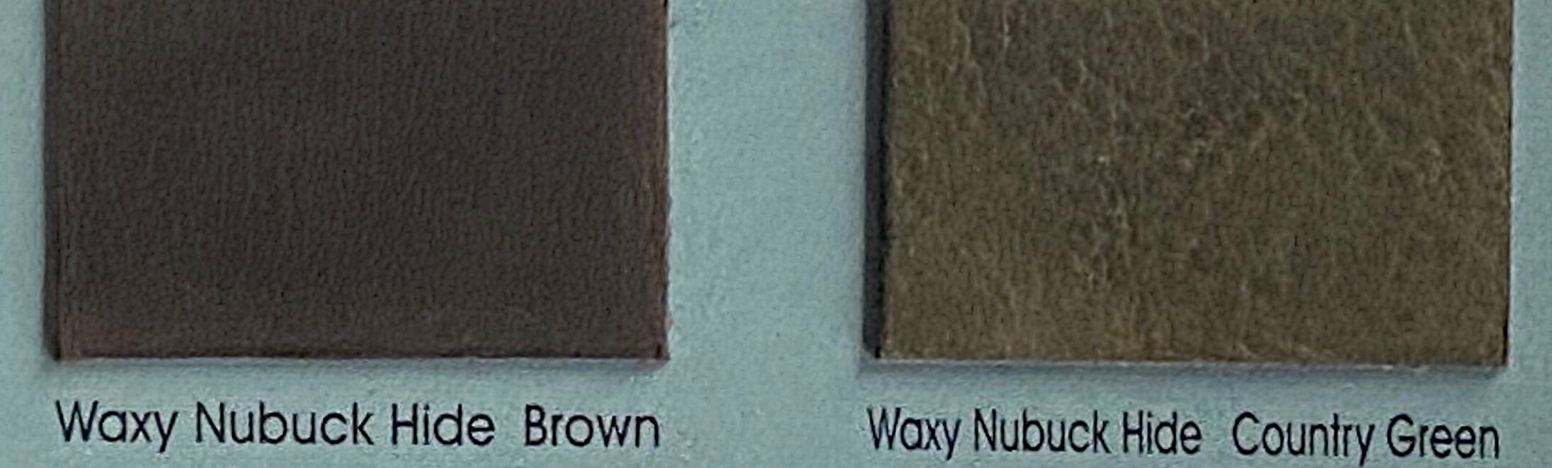 Nubuck Green Waxy Nubuck Cow Hide : (0.9-1.1mm) This Hide Is Perfect for Leather Crafts Leather Bags , Leather Accessories.