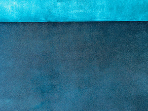 Printed Stingray Lambskin With Metallic Affect Colour Petrol Blue (Ref-gh.eol)