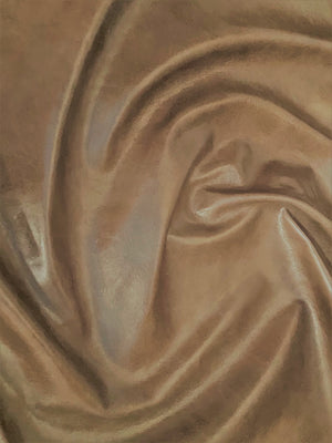 Canada Taupe Natural Grain Glazed Leather Cow Hide : (0.9-1.0mm) This Hide Is Perfect for Leather Crafts , Leather Upholstery , Leather Bags , Leather Accessories.