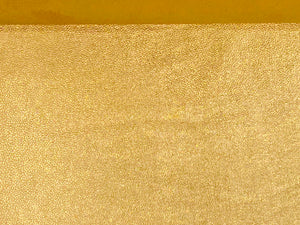 Vegas Gold Full Grain Foiled Leather Cow Hide : (0.9-1.1mm) This Hide Is Perfect for Leather Crafts, Leather Bags , Leather Accessories