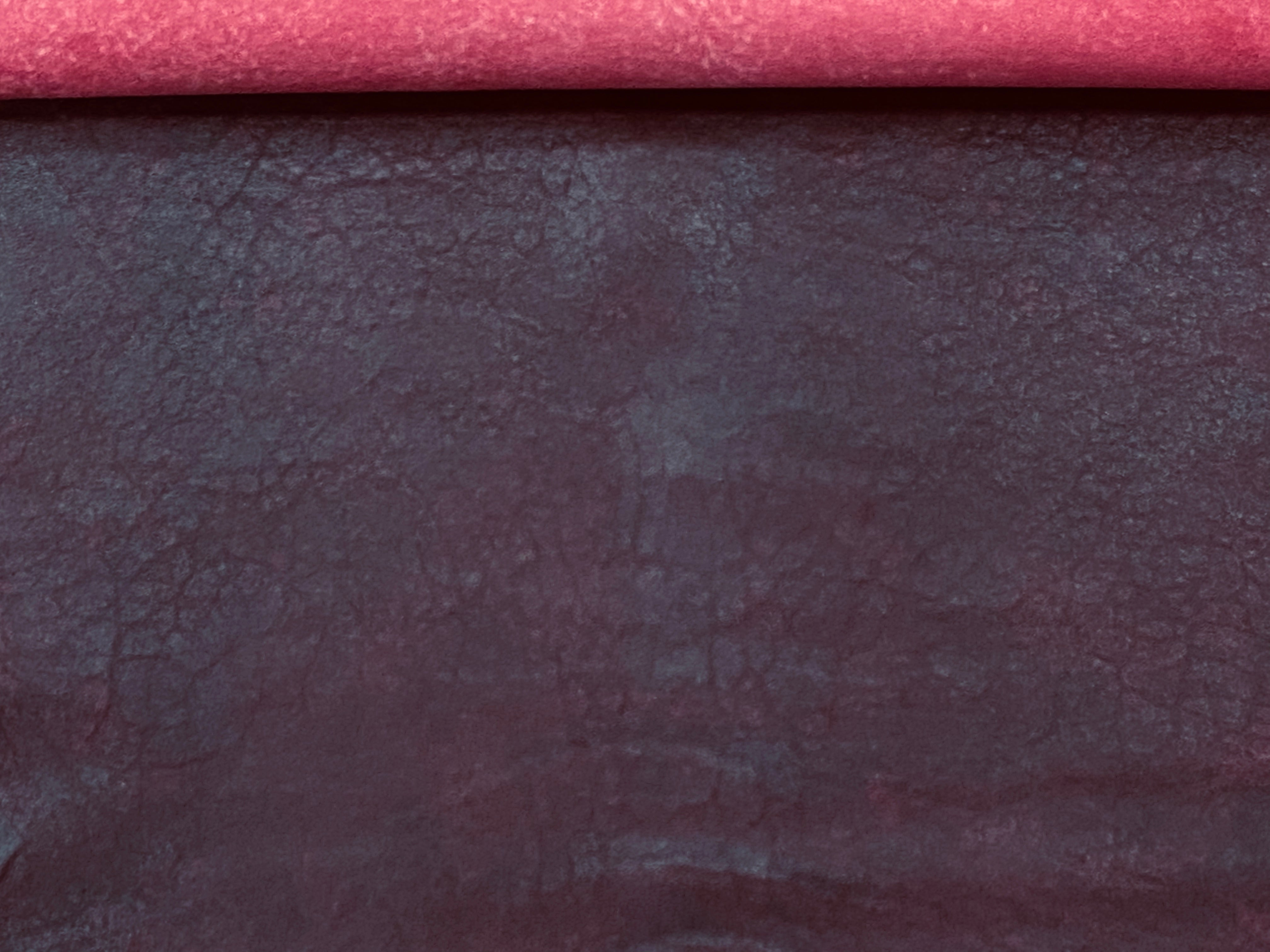 Antique Burgundy Leather Skin : Distressed Lambskin (0.7-0.8mm) , Perfect for Clothing , Leather Jackets , Leather Crafts , Leather Accessories.