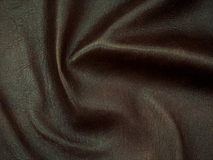 Antique Brown Leather Skin: Distressed Lambskin (0.7-0.8mm)  Perfect for Clothing ,Leather Jackets , Leather Crafts , Leather Accessories.