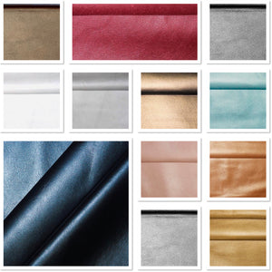 Metallic Baby Pink Leather Skin: ItalianLamb Nappa (0.6-0.7 mm). Perfect for Clothing, Leather Jackets, Leather Crafts, Leather Handbags.
