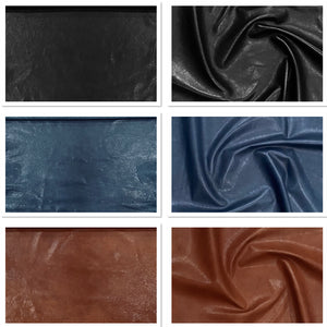 Veg Tan Lamb Vintage Brown Leather Skin : Vegetable Tanned Lambskin (0.7-0.8mm 2oz). Perfect for Clothing, Leather Jackets, Leather Crafts, Leather Handbags.