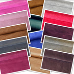 Fuchsia Pink Split Suede : (1.1mm-1.2mm) Silky & Soft Italian Calf Suede Perfect For Suede Shoes , Suede Bags , Suede Leather Crafts , Suede Accessories.