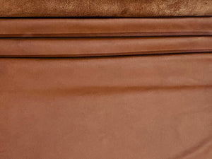 Nassau Cognac Tan Full Grain Leather Cow Hide : (0.9-1.1mm) This Hide Is Perfect for Leather Crafts, Leather Bags , Leather Accessories.