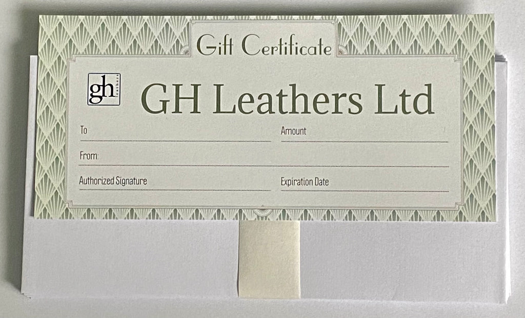 GH Leathers Gift Voucher