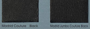 Madrid Jumbo Black Couture Leather Skin : Italian Lamb Nappa (0.8/0.9 mm). Perfect for Clothing, Leather Trousers, Leather Crafts.