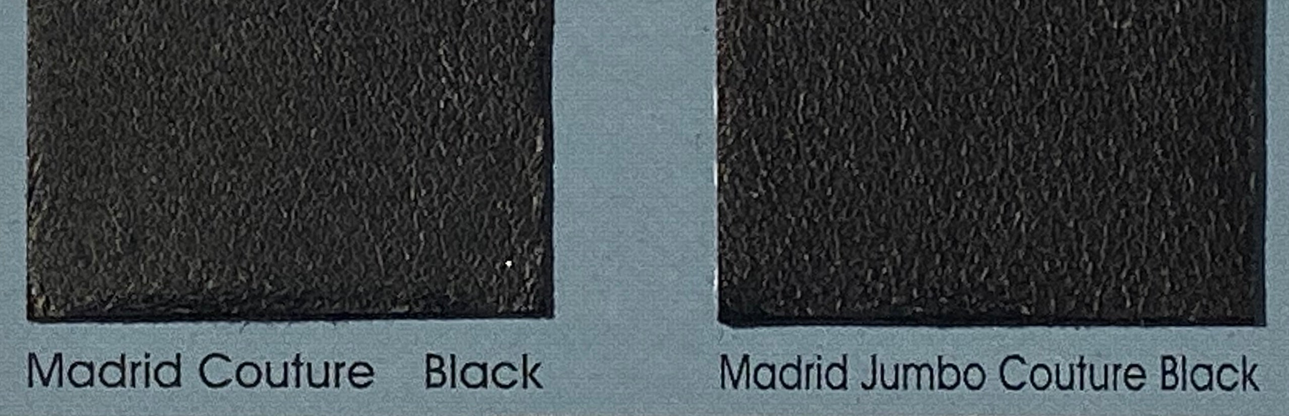 Madrid Black Couture Leather Skin : Italian Lamb Nappa (0.6-0.7mm). Perfect for Clothing, Leather Trousers, Leather Crafts