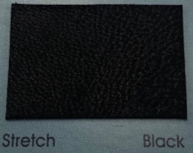Stretch Black Leather Skin :  Italian Stretch Lamb Nappa (0.6-0.7mm). Perfect for Clothing,  Leather Trousers, Leather Crafts, Leather Garments