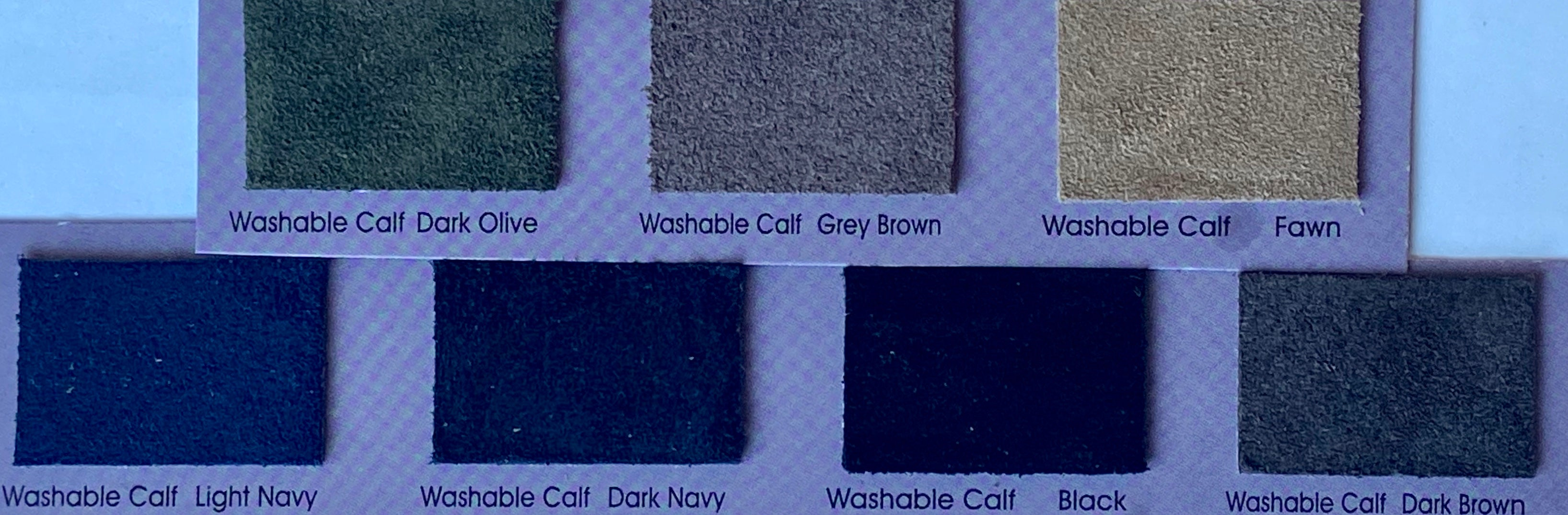 Washable Grey Brown Split Suede : (1.1mm-1.2mm) Silky & Soft Italian Calf Suede Perfect For Suede Shoes , Suede Bags, Suede Leather Crafts , Suede Accessories.