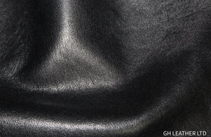 Moto Black Smooth Grain Cow Side : (0.9-1.1mm) Perfect for Leather Crafts, Leather Bags & Leather Accessories.