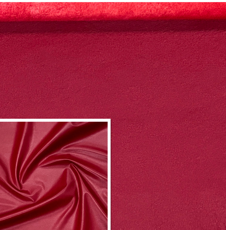 Valencia Red Leather Lambskin : Italian Lamb Nappa (0.6-0.7mm) Perfect For Clothing , Leather Jackets , Leather Crafts , Leather Bags , Leather Shoes.