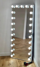 Load image into Gallery viewer, Luxe Full Length Hollywood Mirror