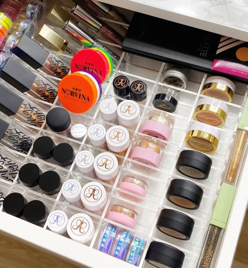 Eyeshadow Make-Up Drawer Divider
