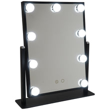 Load image into Gallery viewer, Hollywood Light Vanity Mirror Black