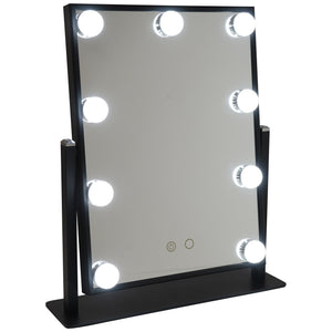 Hollywood Light Vanity Mirror Black