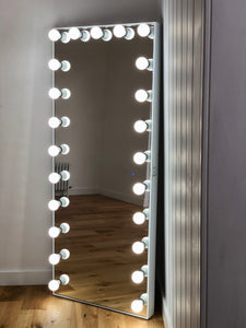 Luxe Full Length Hollywood Mirror