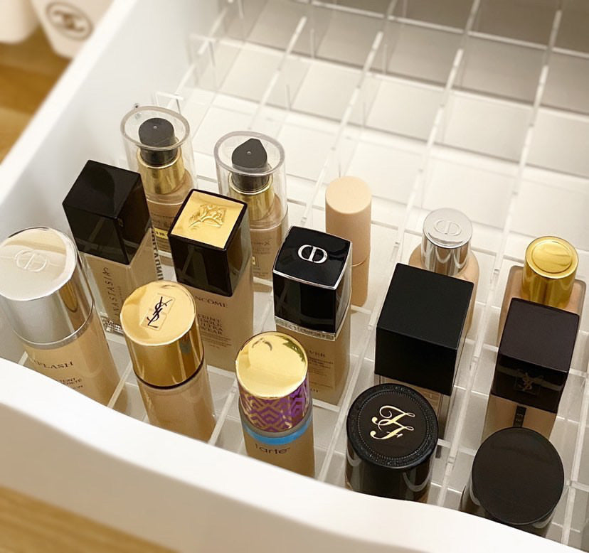 Foundation Make-Up Drawer Divider