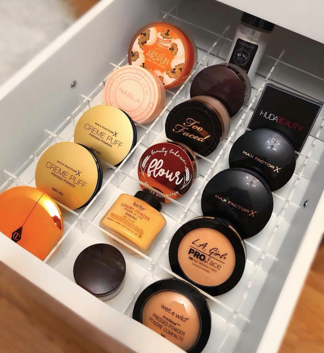 Compact Make-Up Drawer Dividers