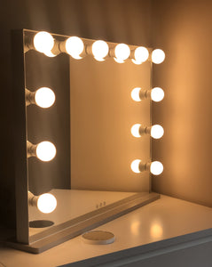 Cool and Warm Tone Hollywood Mirror