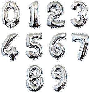 "34"" Foil Balloon Numbers"