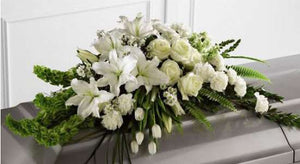 Pure Elegance Casket Spray