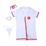 Sexy Nurse Costume Short Skirt