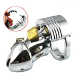 Cage Of Chastity Submissive Man
