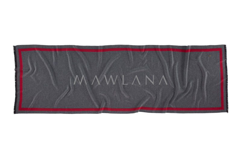 Simply Reversible Mo-shmere Rectangle Scarf - Mawlana Cashmere & Silk