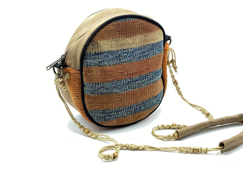 Sidebag Cross Body KILIM Beads Bag