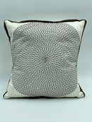 Fibonacci Circular Brown Dots Cushions Pillow