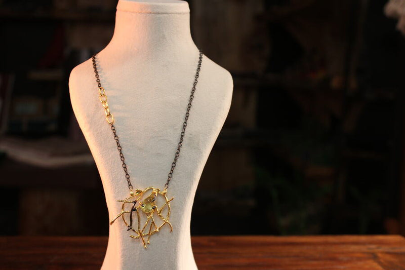 Webs of Destiny Necklaces - Mawlana Cashmere & Silk