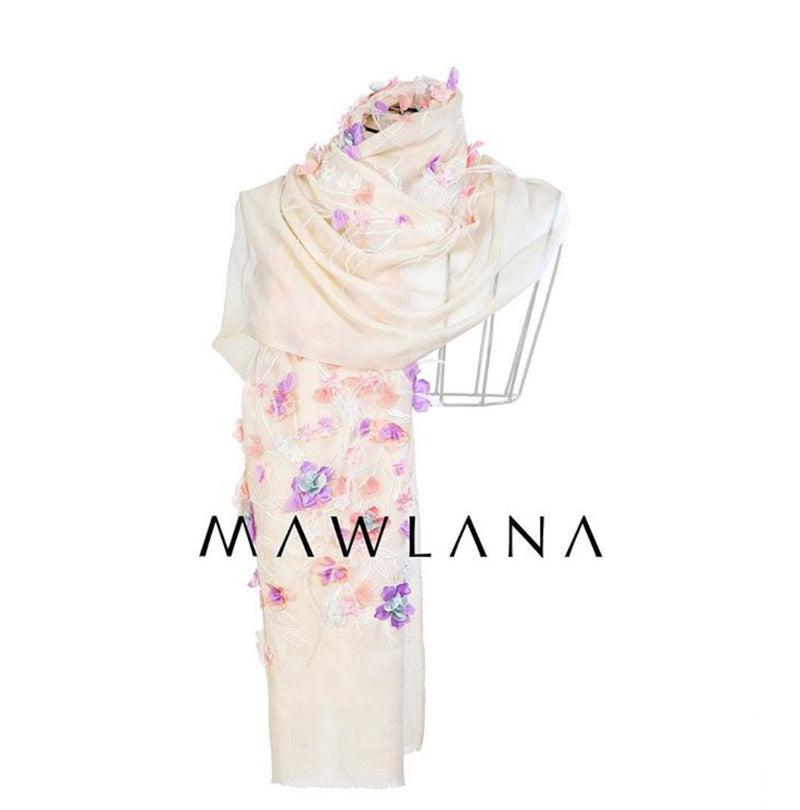 Blooming Feathers - Mawlana Cashmere & Silk