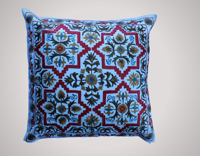 Suzani Cushion Cotton - Mawlana Cashmere & Silk