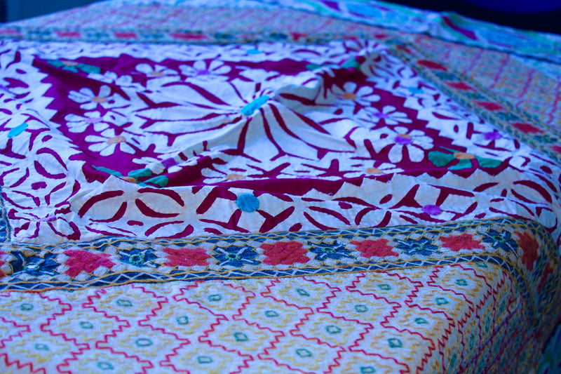 Cotton Patch Work Table Cloth - Mawlana Cashmere & Silk