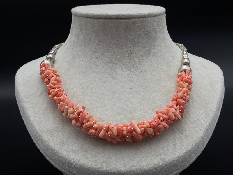 Handmade Aleppo Antique Necklaces - Rose Quartz Healer Necklace
