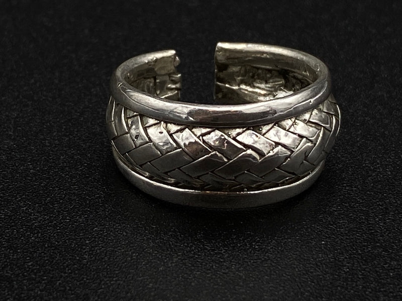 Light Handmade Aleppo Antique Rings  - Armour Simple Open