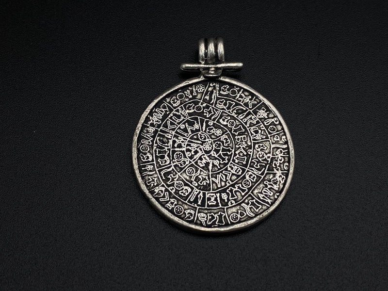 Handmade Aleppo Antique Pendants  - Plain Silver Pendants