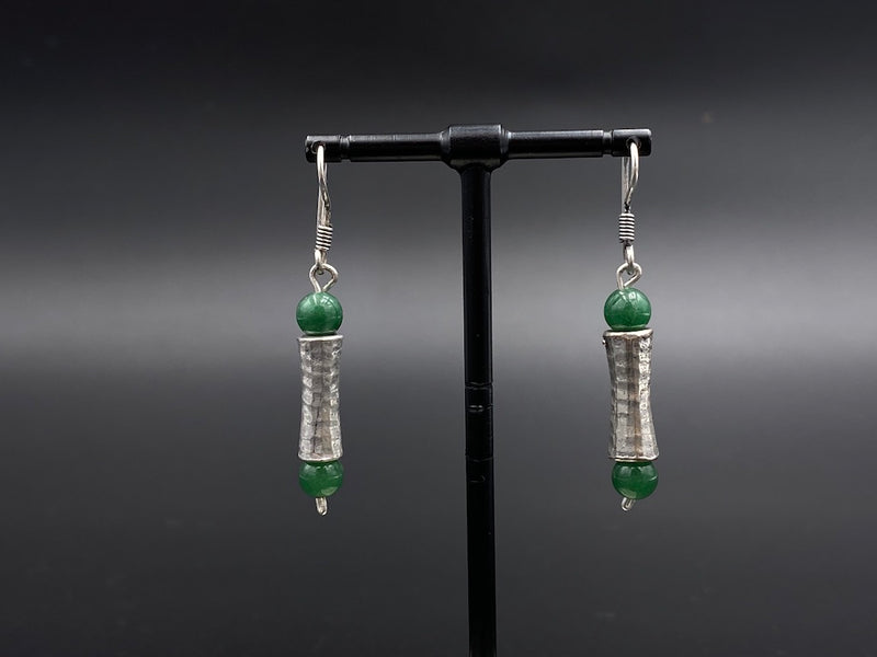 Handmade Aleppo Antique Earrings  - Light Earrings with Crystals