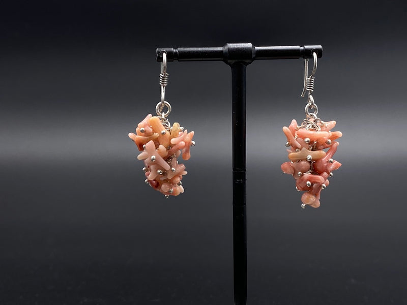 Handmade Aleppo Antique Earrings  - Heavy Earrings with Crystals - Just Crystal