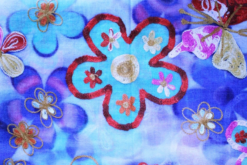 Spring Morning Scarves - Mawlana Cashmere & Silk